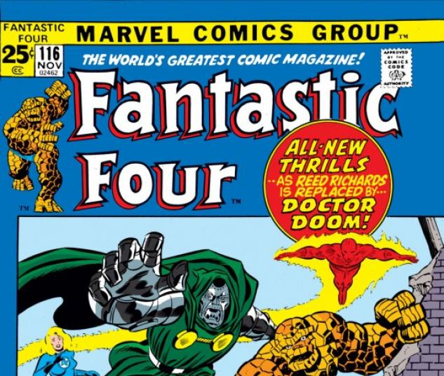 FANTASTIC FOUR #116