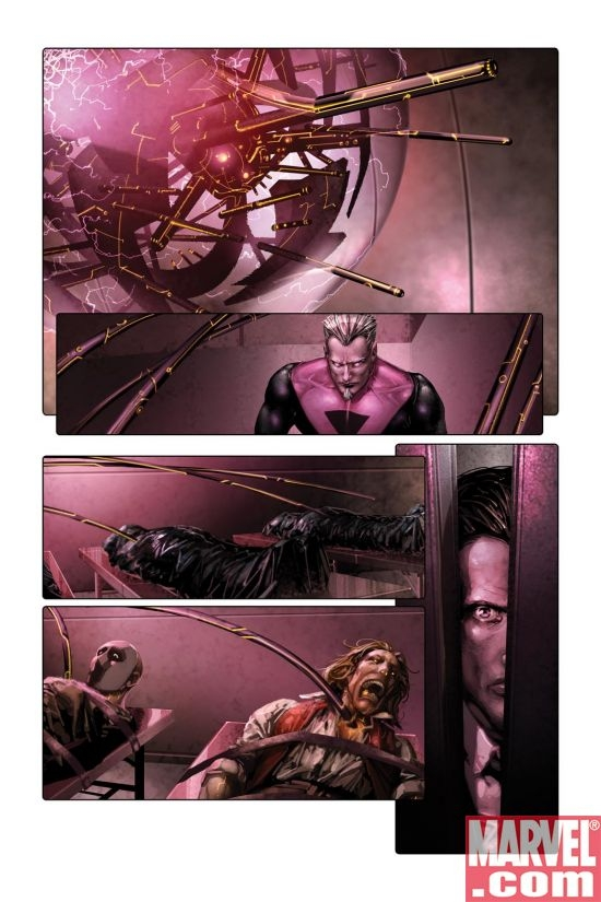 X-FORCE #3 Interior Art
