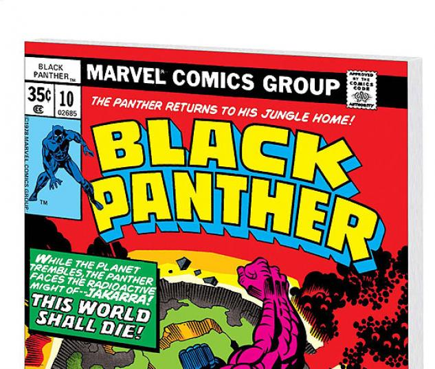 BLACK PANTHER BY JACK KIRBY VOL. 2 COVER