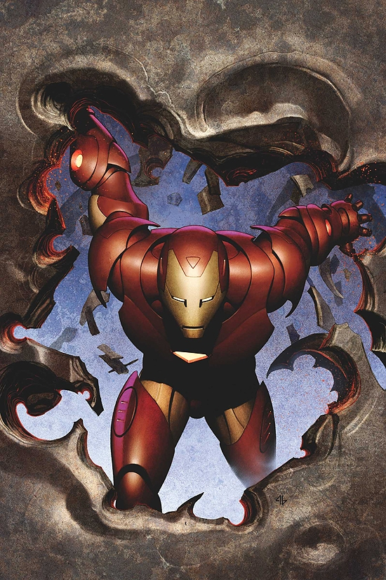 IRON MAN (2008) #6 COVER