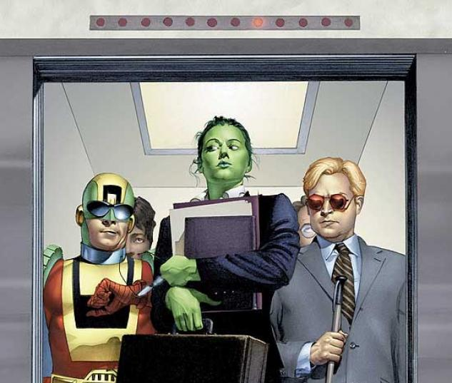 SHE-HULK (2005) #8 COVER