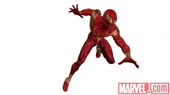 ''Spider-Man: Shattered Dimensions'' Iron Spider costume