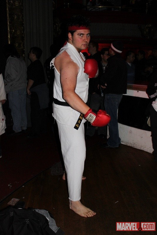Ryu cosplayer from the Marvel vs. Capcom 3 Fight Club