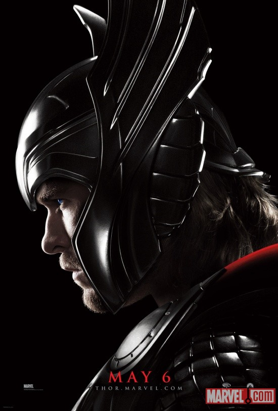 New Thor movie poster at Wondercon
