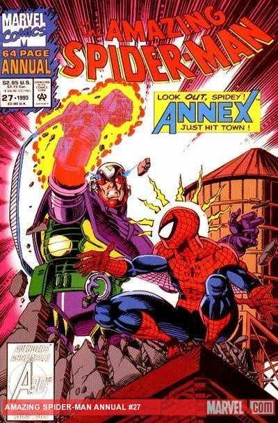 Amazing Spider-Man Annual #27 cover