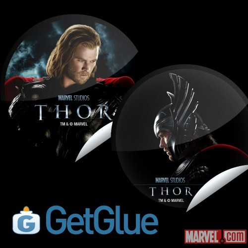 Check-In To GetGlue For 2 New Thor Stickers