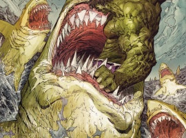The Incredible Hulk #2 cover by Marc Silvestri