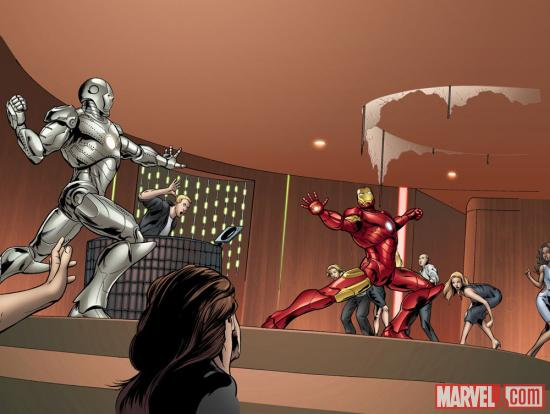 Art from Marvel's The Avengers - Iron Man: Mark VII by Steve Kurth