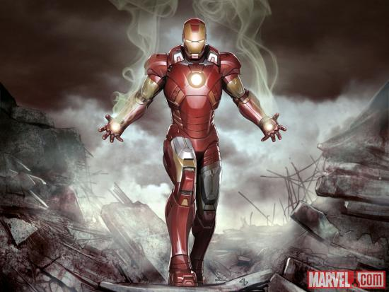 Art from Marvel's The Avengers - Iron Man: Mark VII by Adi Granov
