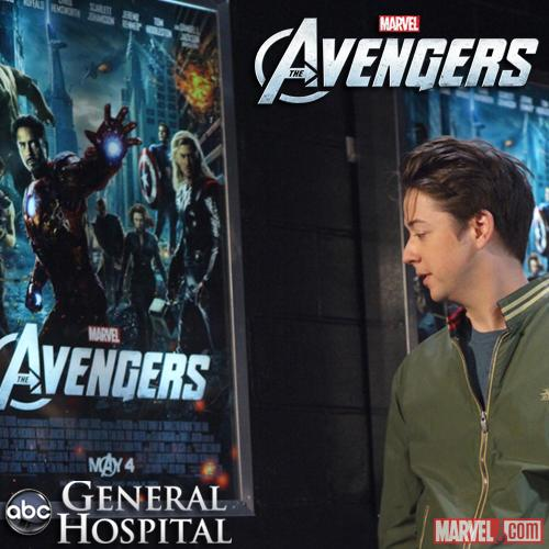 Marvel's The Avengers on General Hospital