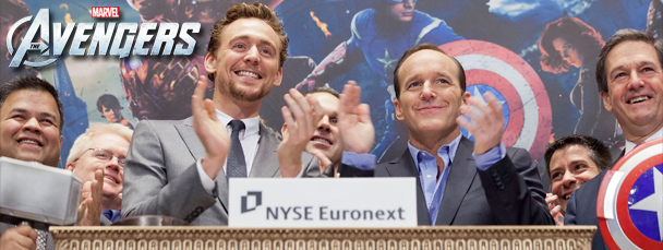 The Avengers Open the NYSE