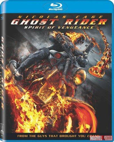 Ghost Rider: Spirit of Vengeance Blu-ray
