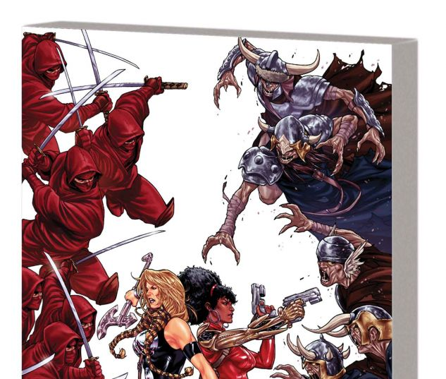 FEARLESS DEFENDERS VOL. 1: DOOM MAIDENS TPB (MARVEL NOW)