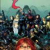 Image Featuring X-Men, Cable, Sub-Mariner, Colossus, Hope Summers, Cyclops, Emma Frost, Magik (Illyana Rasputin), Magneto, Nightcrawler, Psylocke, Rogue