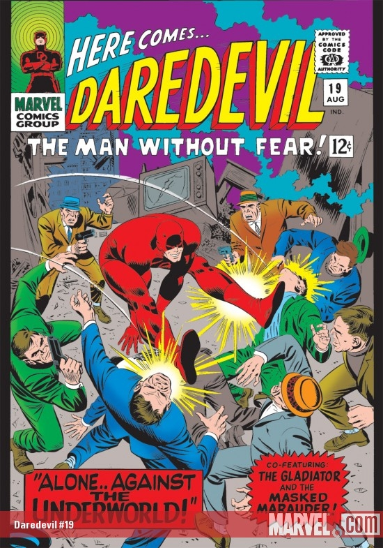 DAREDEVIL #19 COVER
