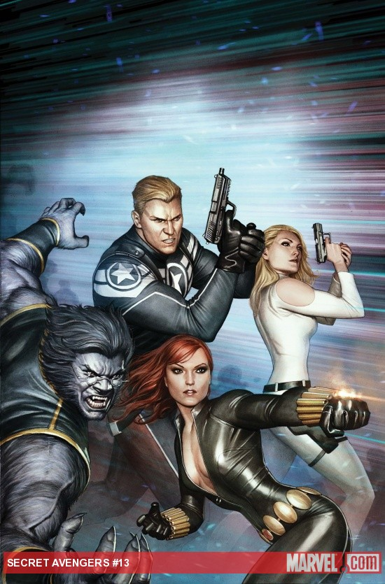 Secret Avengers #13 cover by Adi Granov