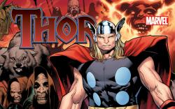 THOR: TALES OF ASGARD TPB cover by Olivier Coipel