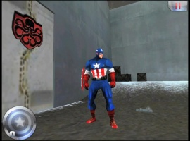 A screenshot from Captain America: Sentinel of Liberty