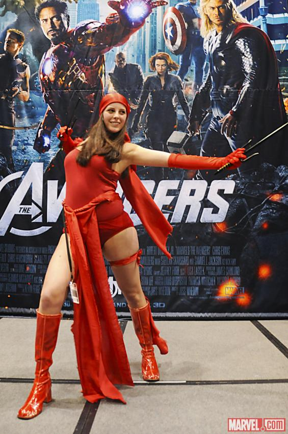 the Marvel Costume Contest Elektra Marvel Costume