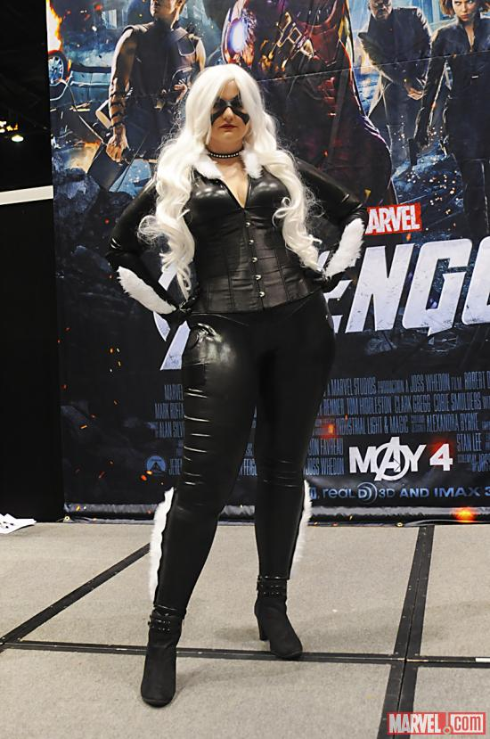 C2E2 2012: Catwoman in the Marvel Costume Contest