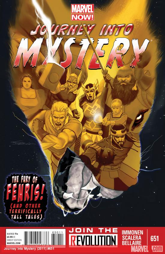 Journey Into Mystery #651 cover by Jeff Dekal