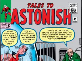 Tales to Astonish (1959) #45 Cover