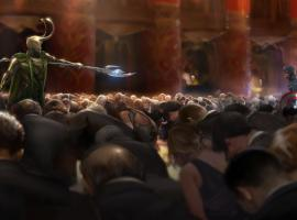 Marvel's The Avengers keyframe art featuring Captain America by Rodney Fuentebella