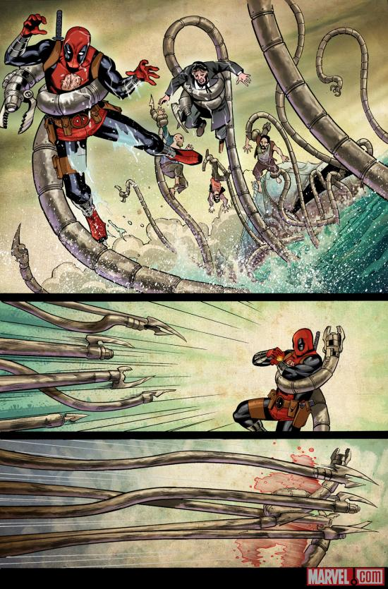 Deadpool Killustrated #2 preview art by Matteo Lolli