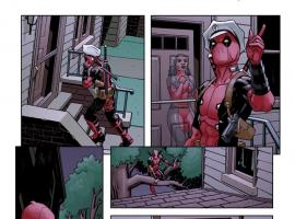 Deadpool (2012) #8 preview art by Mike Hawthorne