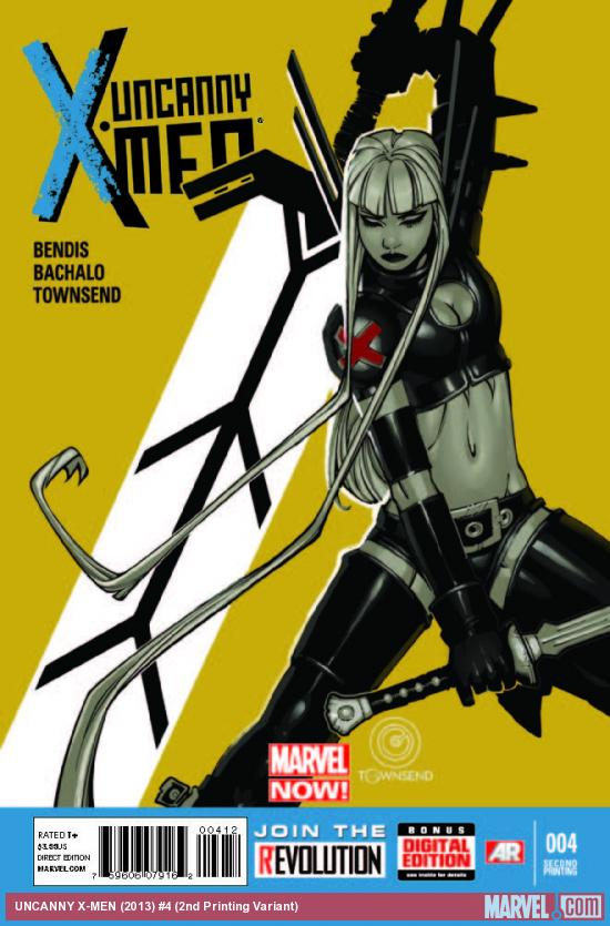 UNCANNY X-MEN 4 2ND PRINTING VARIANT (NOW, WITH DIGITAL CODE)