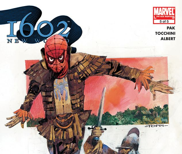 Marvel 1602: New World (2005) #5