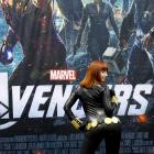 Black Widow cosplayer at Wondercon 2012