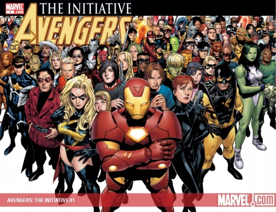 AVENGERS: THE INITIATIVE #1 (VARIANT COVER) COVER