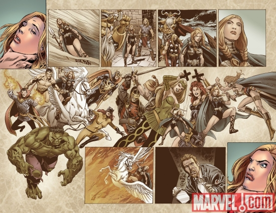 VALKYRIE #1 preview art by Phil Winslade 3