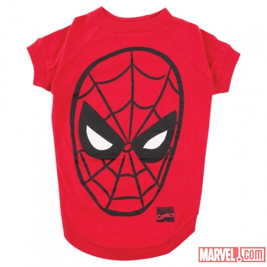 Spider-Man Face Dog Tee by Fetch available at PetSmart