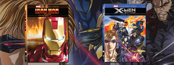 Iron Man and X-Men anime