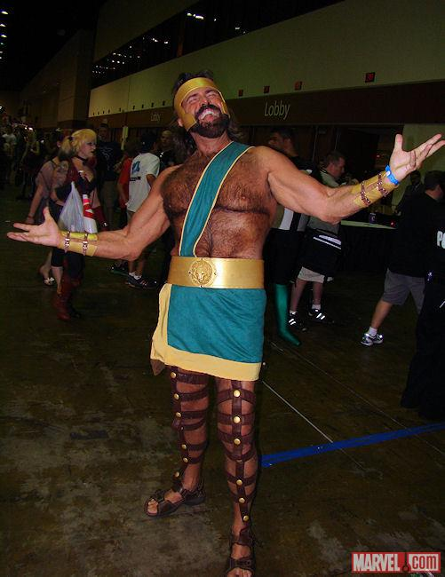 Marvel Cosplay: Hercules at Megacon
