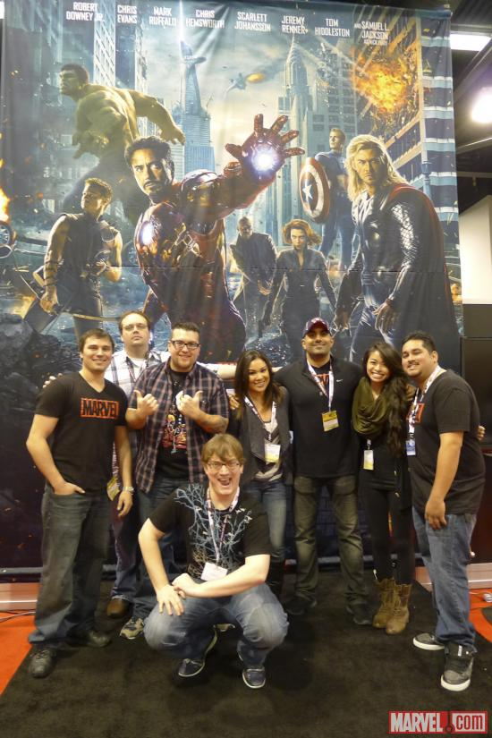 Marvel Team at Wondercon 2012