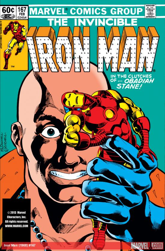 Iron Man (1968) #167 Cover