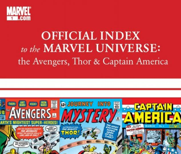Avengers, Thor & Captain America: Official Index to the Marvel Universe (2010) #3
