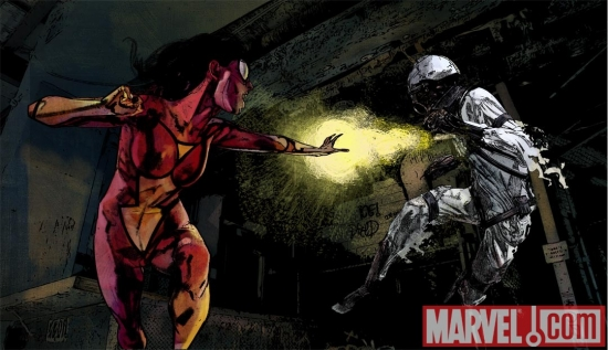 SPIDER-WOMAN Episode 4 preview art by Alex Maleev
