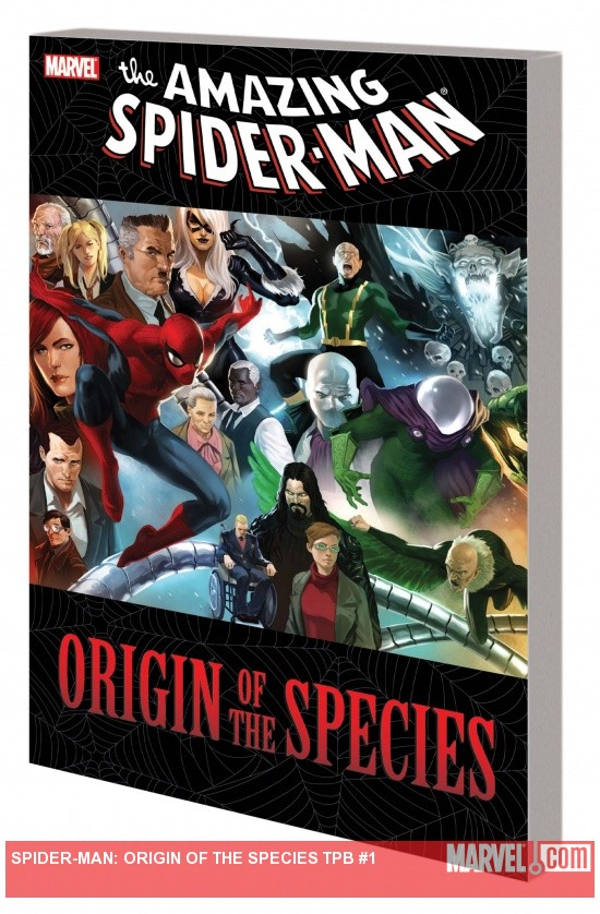  SPIDER-MAN: ORIGIN OF THE SPECIES TPB cover