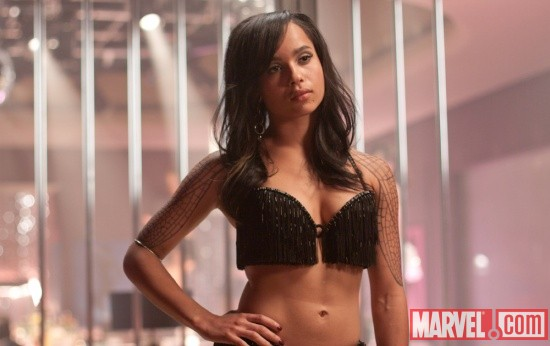 Zoe Kravitz stars as Angel Salvadore in X-Men: First Class