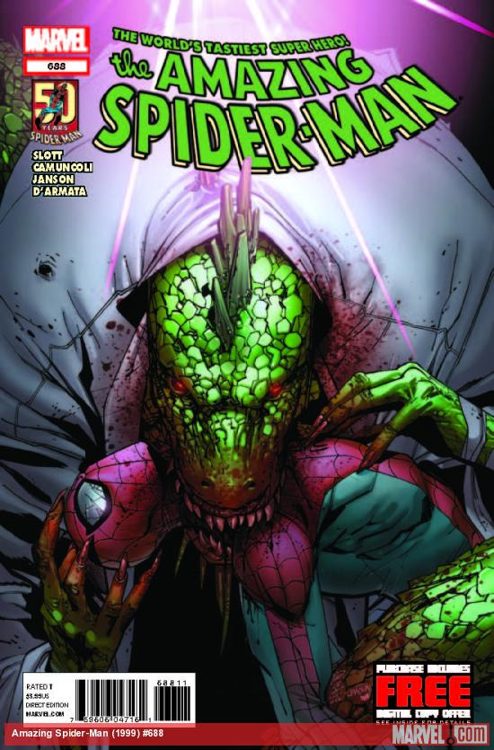 AMAZING SPIDER-MAN 688 (WITH DIGITAL CODE)
