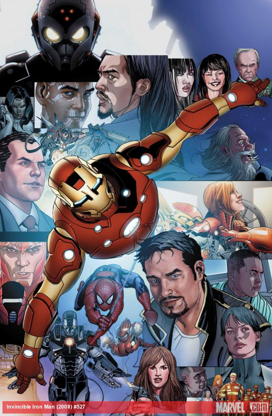 Invincible Iron Man #527 Cover