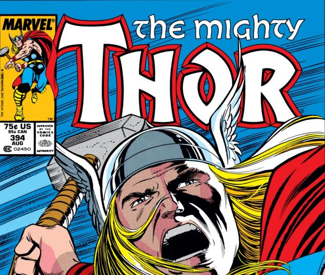 Thor (1966) #394 Cover