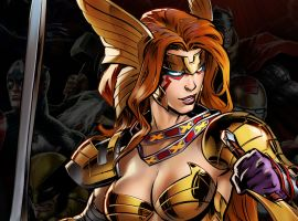 Angela in Marvel: Avengers Alliance