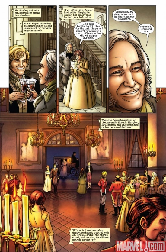 PRIDE & PREJUDICE #1 preview page 6