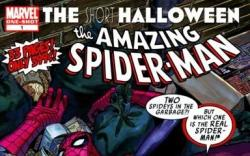 SPIDER-MAN: THE SHORT HALLOWEEN #1 cover by Kevin Maguire