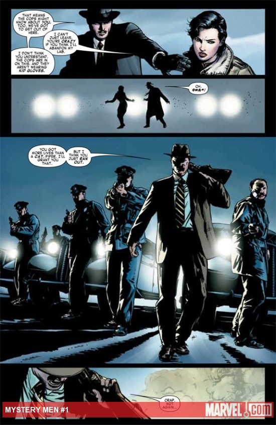 Mystery Men #1 preview art by Patrick Zircher